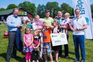 Aasta suurpere 2016 perekond Aan Tartumaalt.