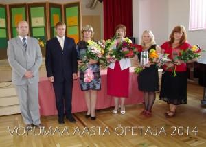 Aasta õpetaja 2014