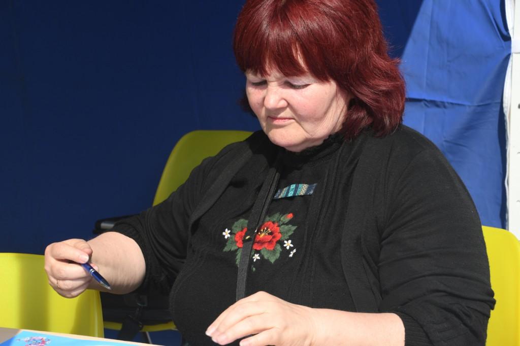 Aire Koop, Pärnu koolieelsete laste laulupeo projektijuht Foto Urmas Saard