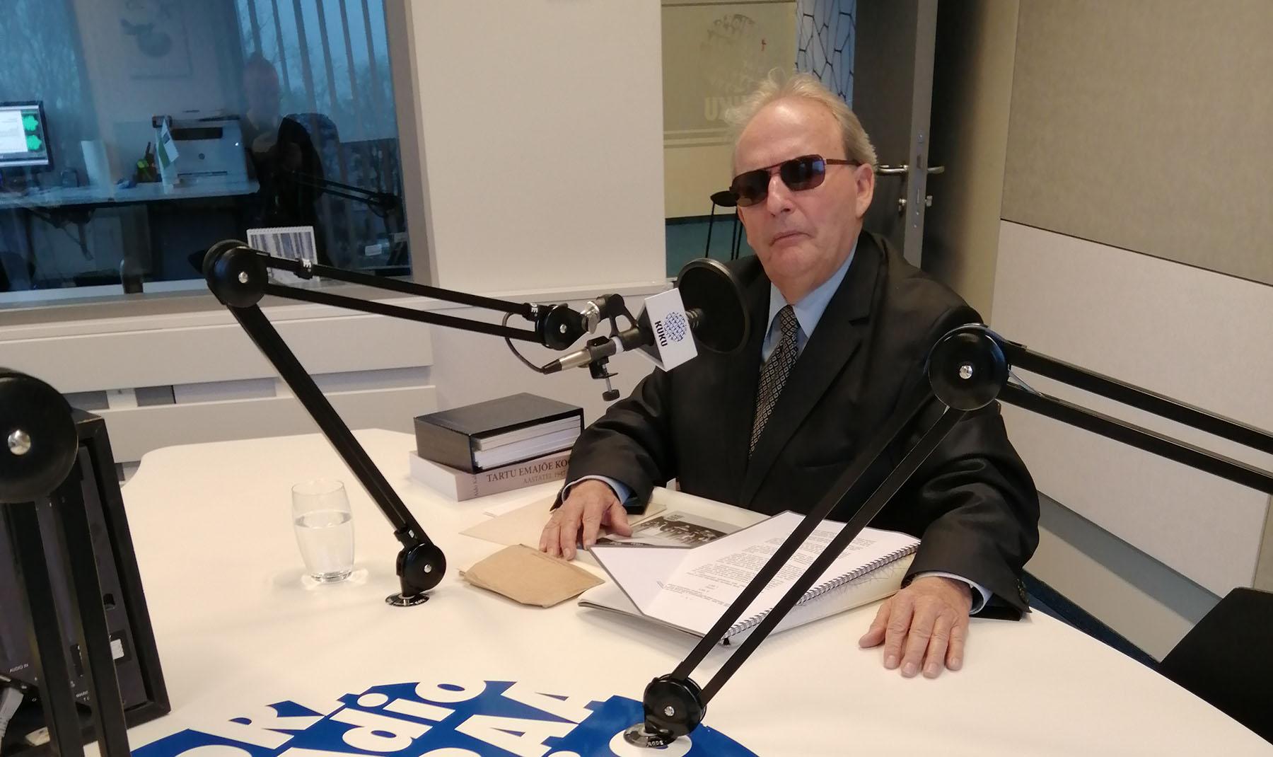 Aldo Kals, Raadio Kuku külaline Foto Raadio Kuku