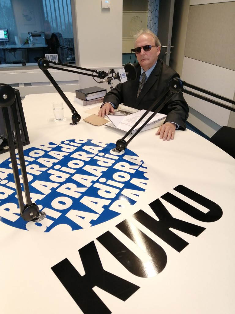 Aldo Kals, Raadio Kuku külaline. Foto Raadio Kuku