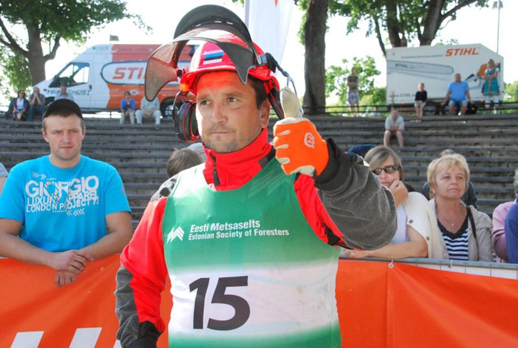 Andres Olesk, raiesportlane Foto Urmas Saard