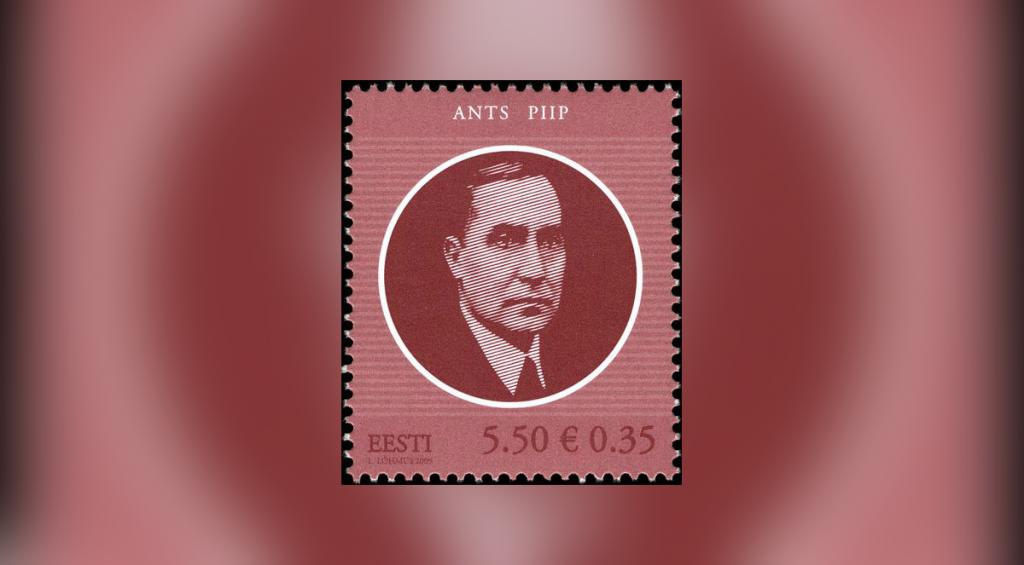 Ants Piibu 125. sünniaastapäevaks valmis Eesti Postil postmark sarjast Eesti Vabariigi riigipead.