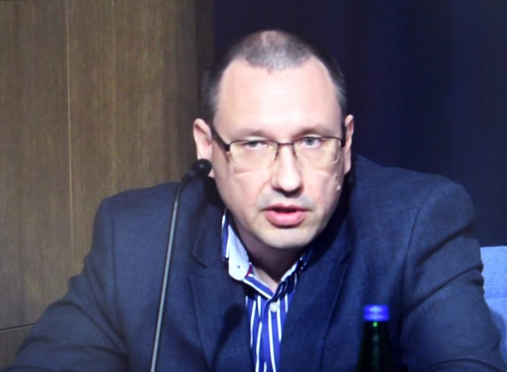 Arkadi Popov, hädaolukorra meditsiinijuht. Foto: Urmas Saard