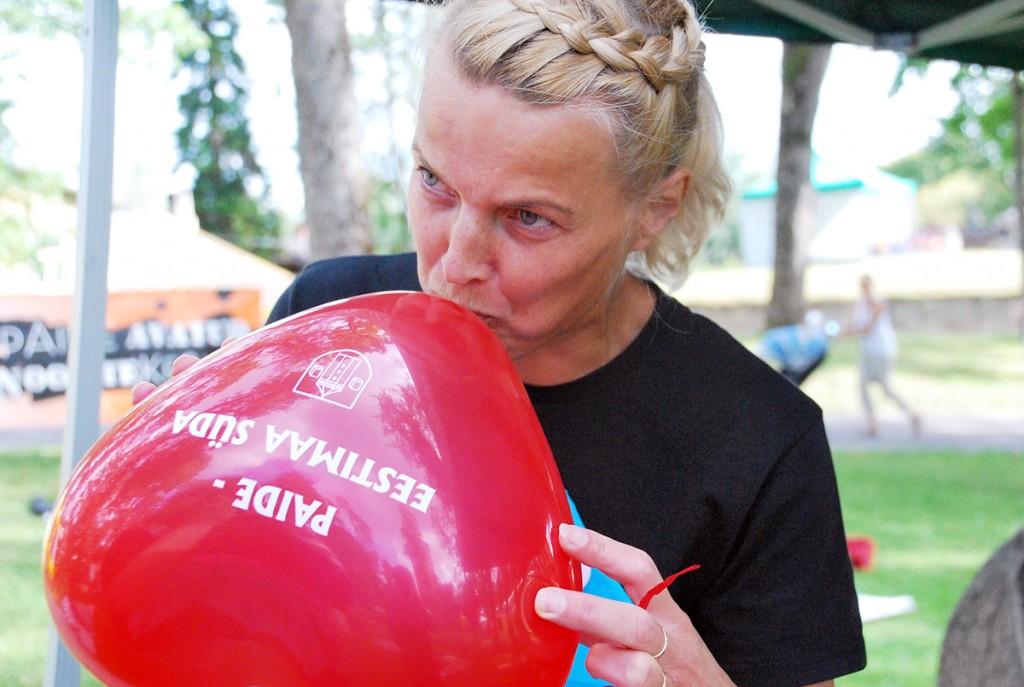 Arvamusfestivalil Paides Foto Urmas Saard