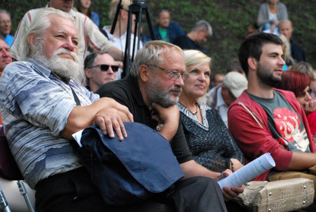 Arvamusfestivalil osalejad Foto Urmas Saard