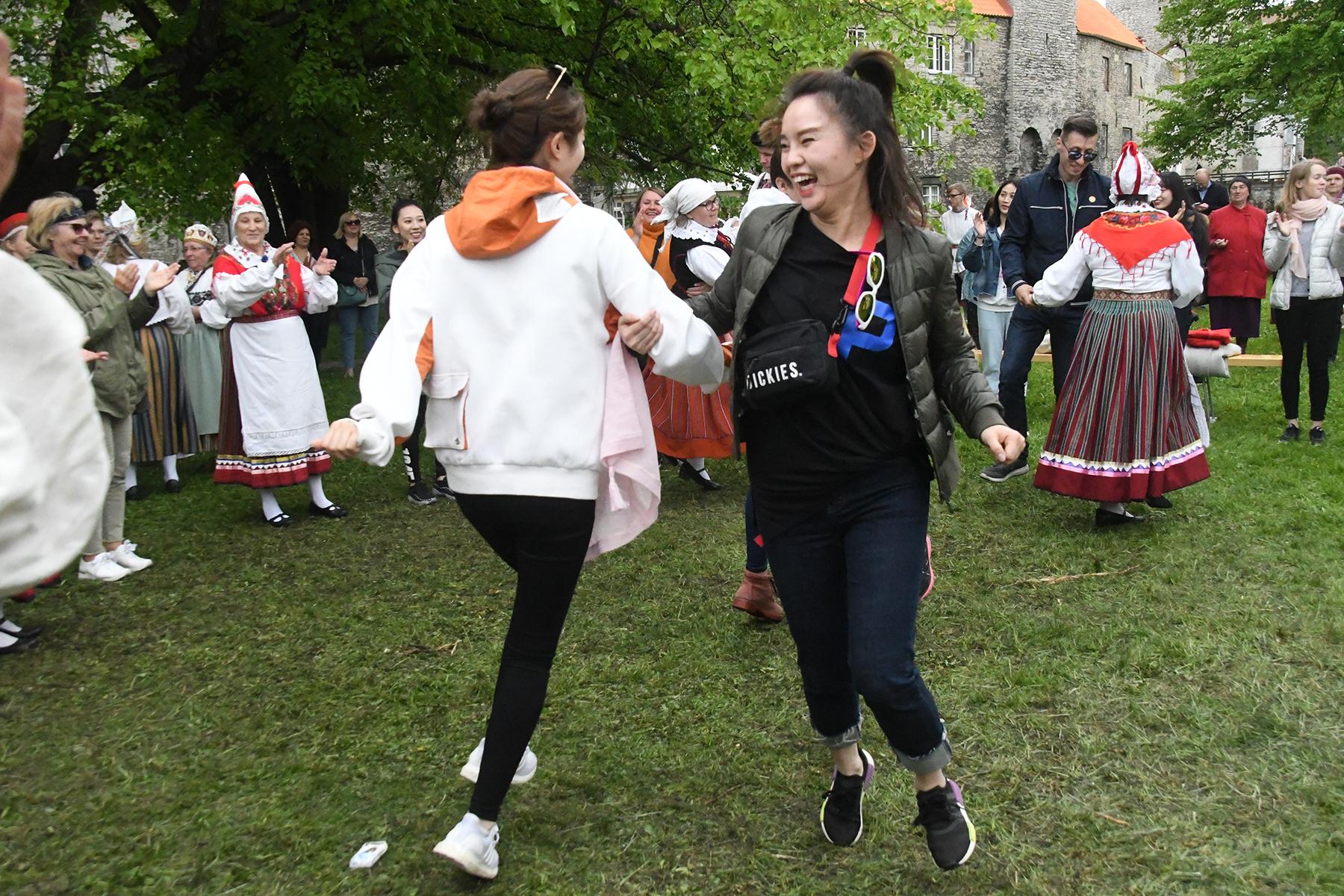 Baltica 2019 Tornide väljaku pärimuskülas. Foto Urmas Saard