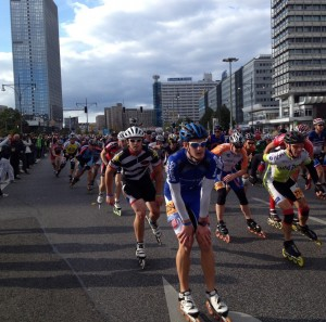 Berliini rulluisumaraton. Foto: Jaanus Lehes