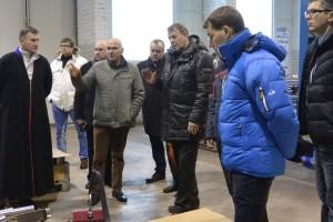 Maavanemate ringkäik firmas Bestra Engineering AS. Foto: Viljandi maavalitsus