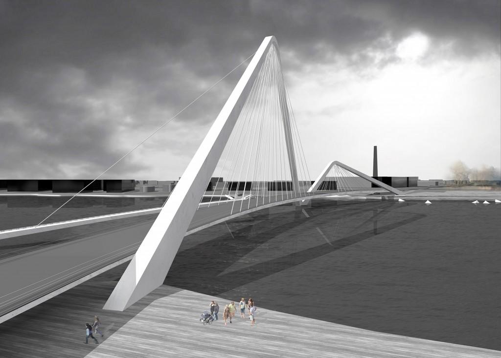 Britt Vaheri visualiseering Pärnu kolmandast sillast