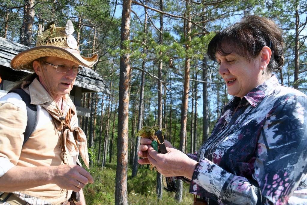 Edu Kull ja Marina Maisashvili Ignatsi õpperajal Foto Urmas Saard