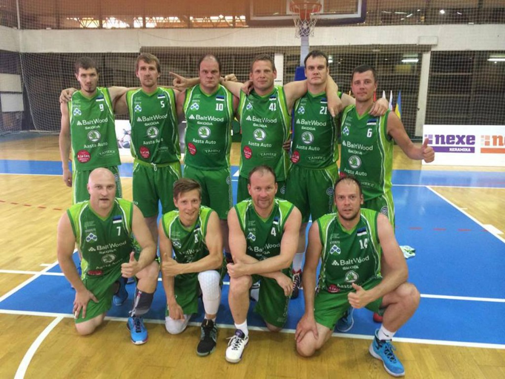 Eesti 35+ meeskond Mooste Mõis SK