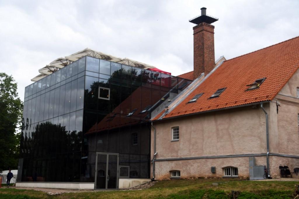 Eesti Pärimusmuusika Keskuse hoone Viljandis Foto Urmas Saard