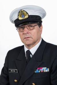 Eesti kaitseväes on Jüri Trei auaste mereväe nooremleitnant Foto erakogust
