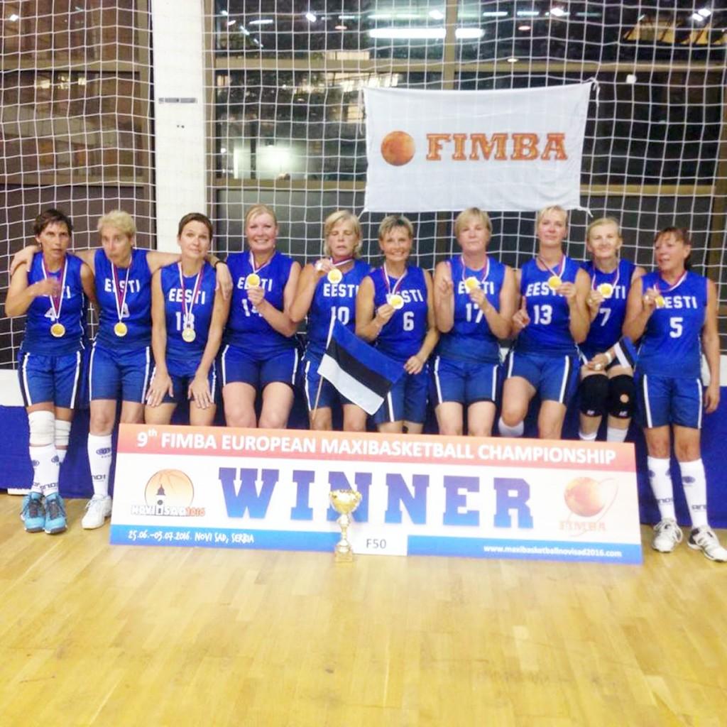 Eesti võistkonna ajaloo esimene kuld EMil