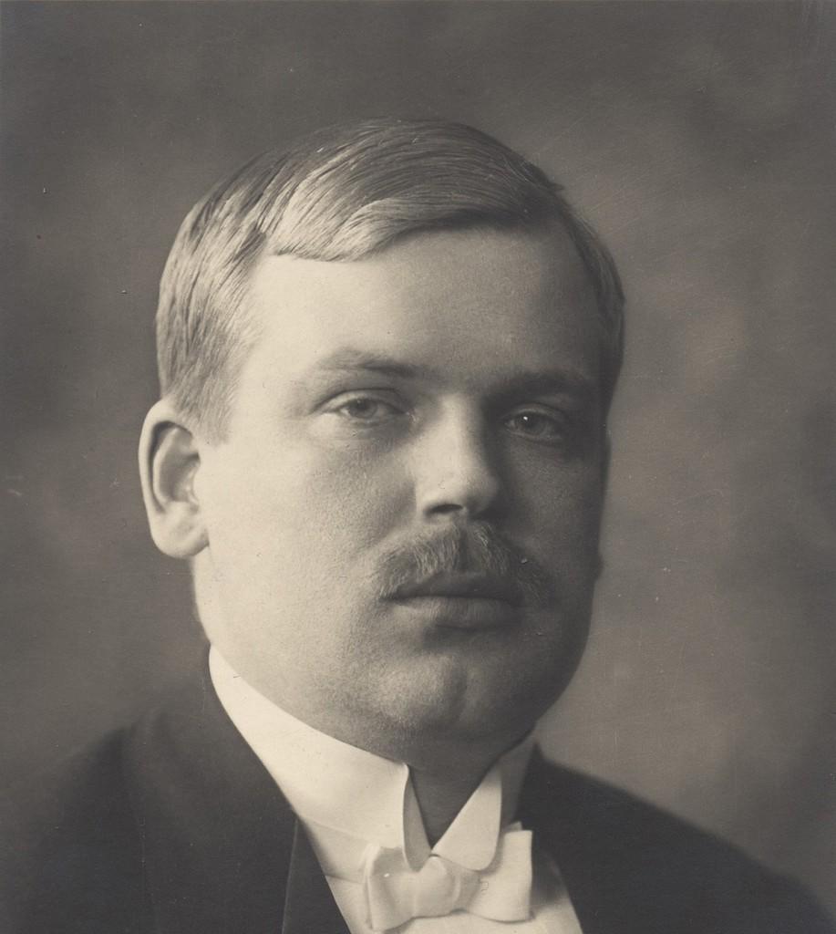 Eestimaa päästekomitee liige ja esimene kohtuminister Jüri Vilms (1889–1918) Foto filmiarhiiv