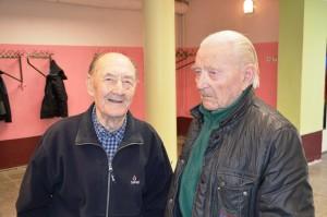 Elmar Tekkel ja Endel Koorep Vigala eakate päeval. Foto: erakogu