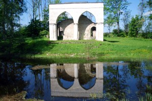 Haimre mõisa kabeli varemed Foto Urmas Saard