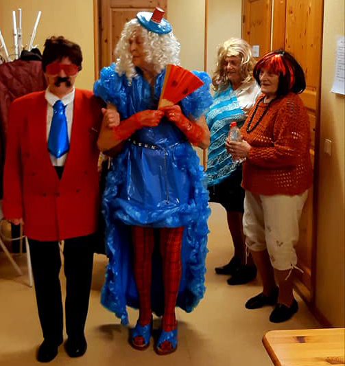 Halloween Sindi sotsiaalmajas Foto Juta Velleste