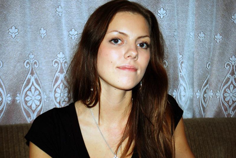 Hanna Kivila, gümnasistina Foto Urmas Saard