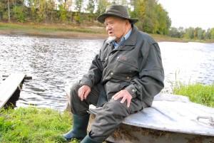 Hans Soll Kiisa talus Pärnu jõe ääres Foto Urmas Saard