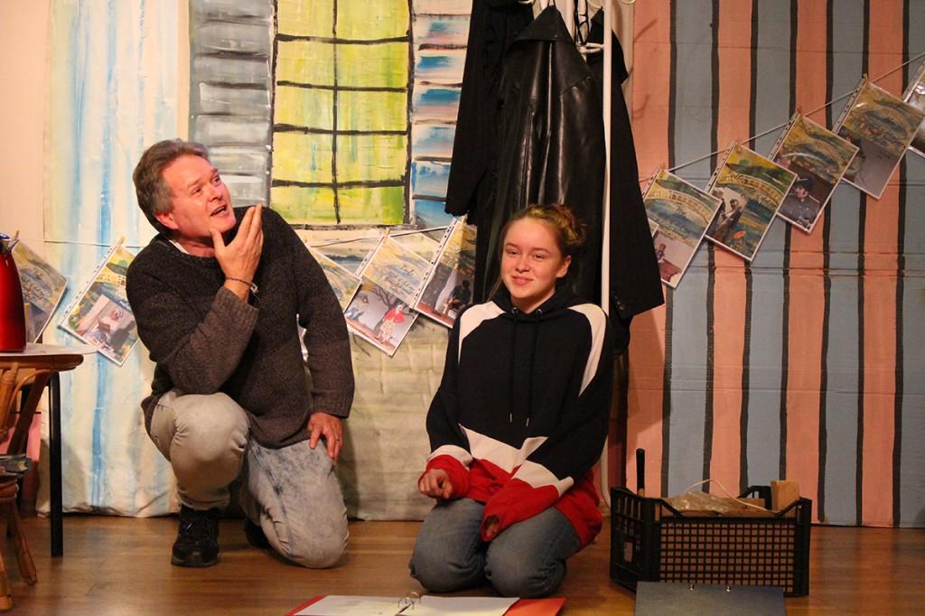 Harrastusnäitlejad Peter ja Kim Wüthrich. Foto Luule Tiirmaa