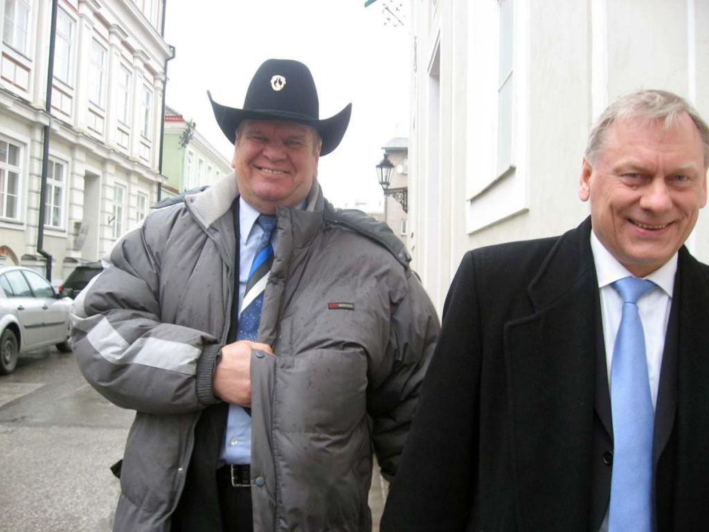 Harri Henn ja Trivimi Velliste Foto Urmas Saard