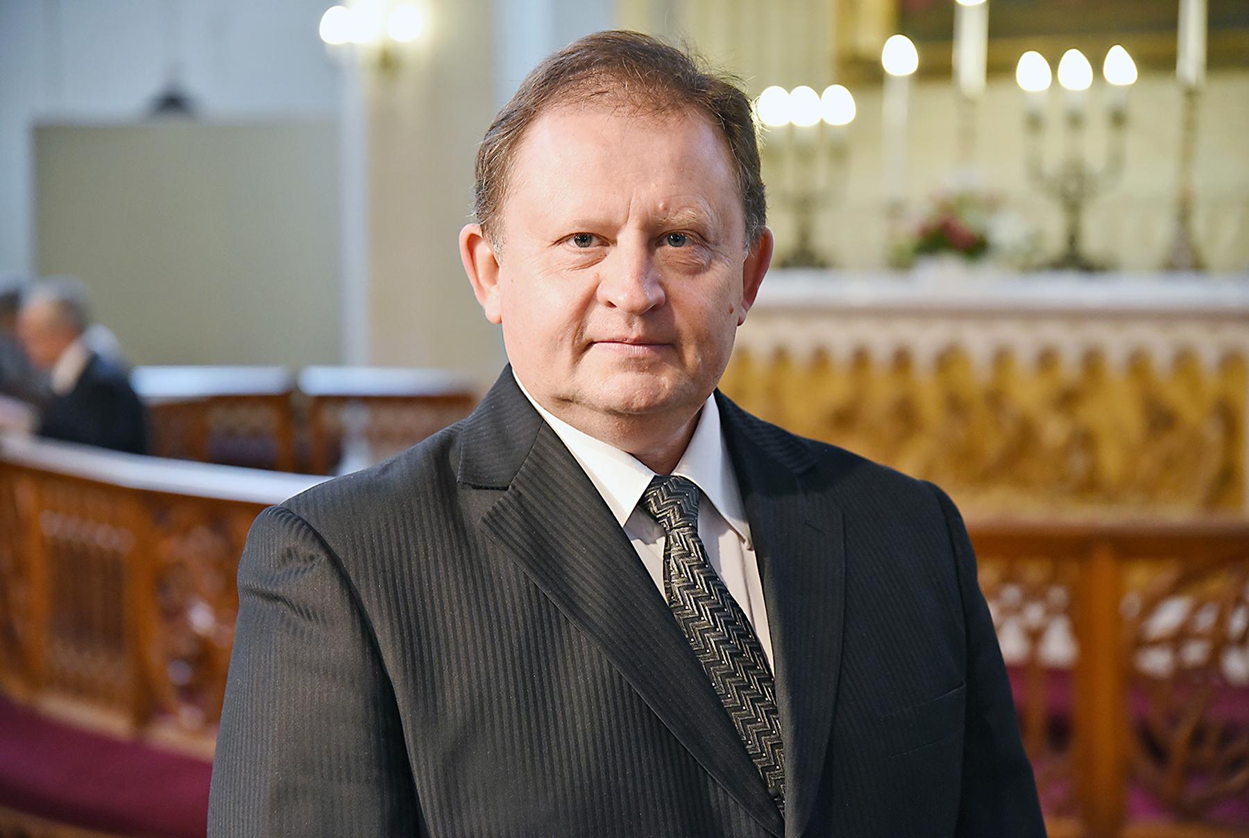 Heldur Kajaste. Oleviste koguduse pastor. Foto: Aris Sepp