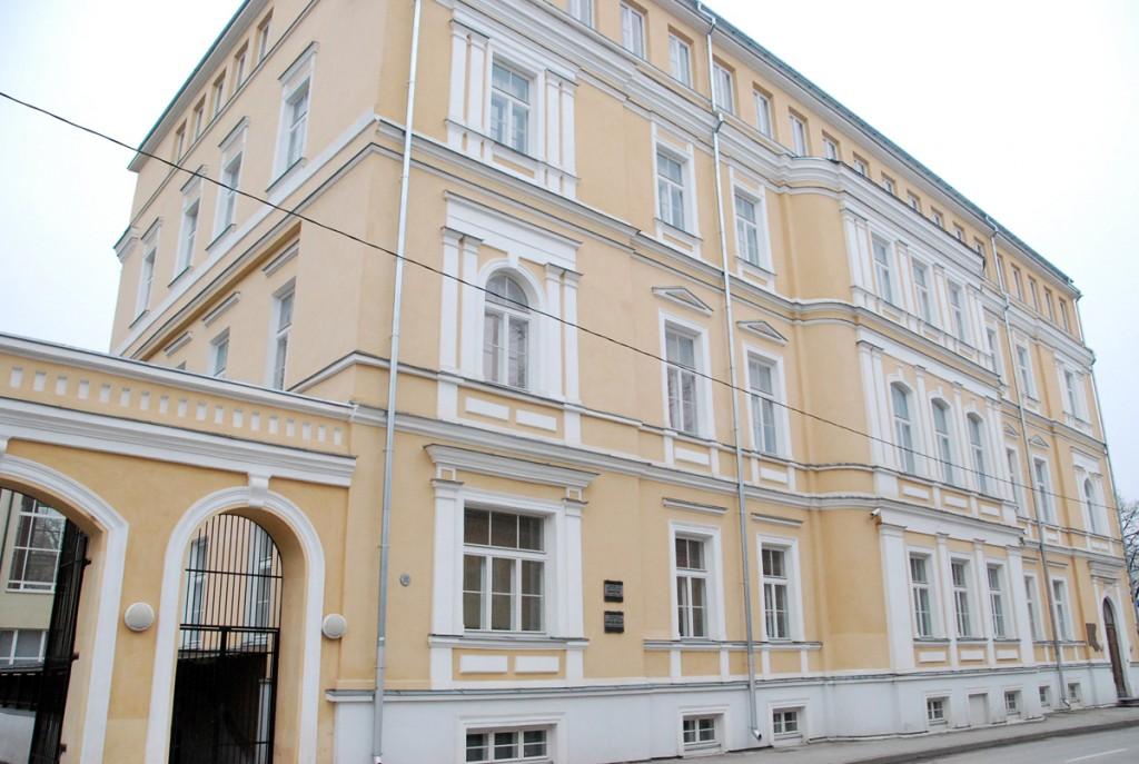 Hoone, kus sõlmiti rahuleping Eesti ja Venemaa vahel Foto Urmas Saard