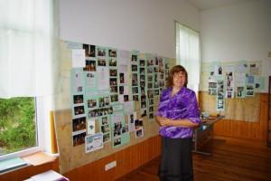 Raamatukogu juhataja Ly Haaviste. Foto: Monika Otrokova