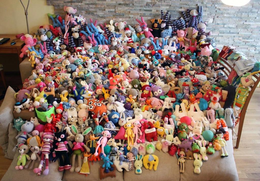 Isetehtud mänguasjad