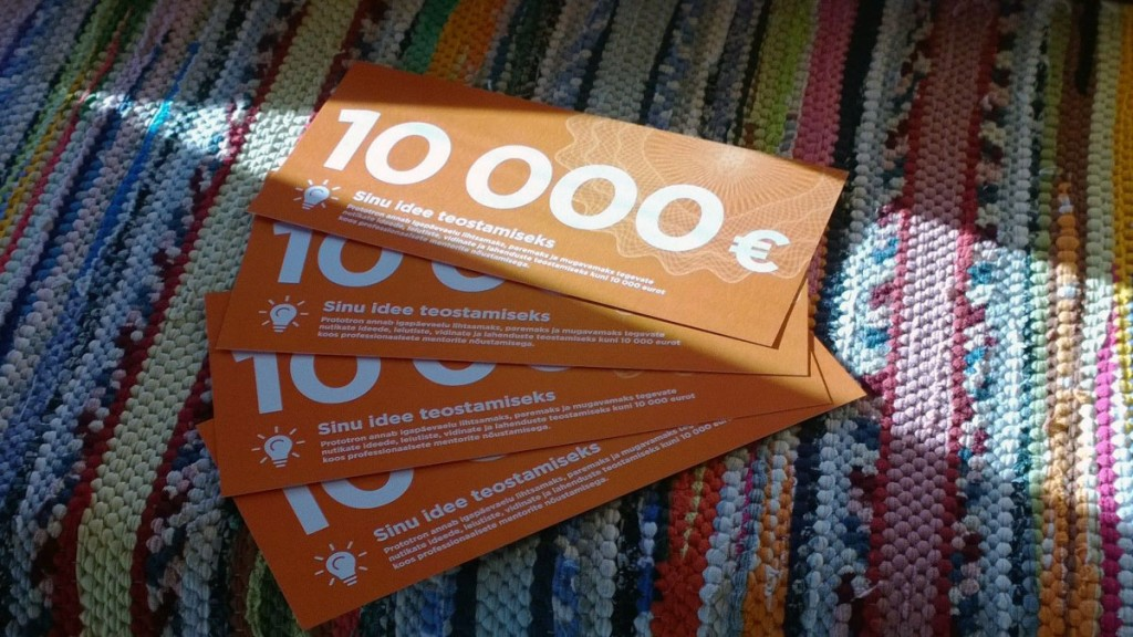 Jõukuul selgub, kelle idee on väärt 10 000 euro suurust rahastust