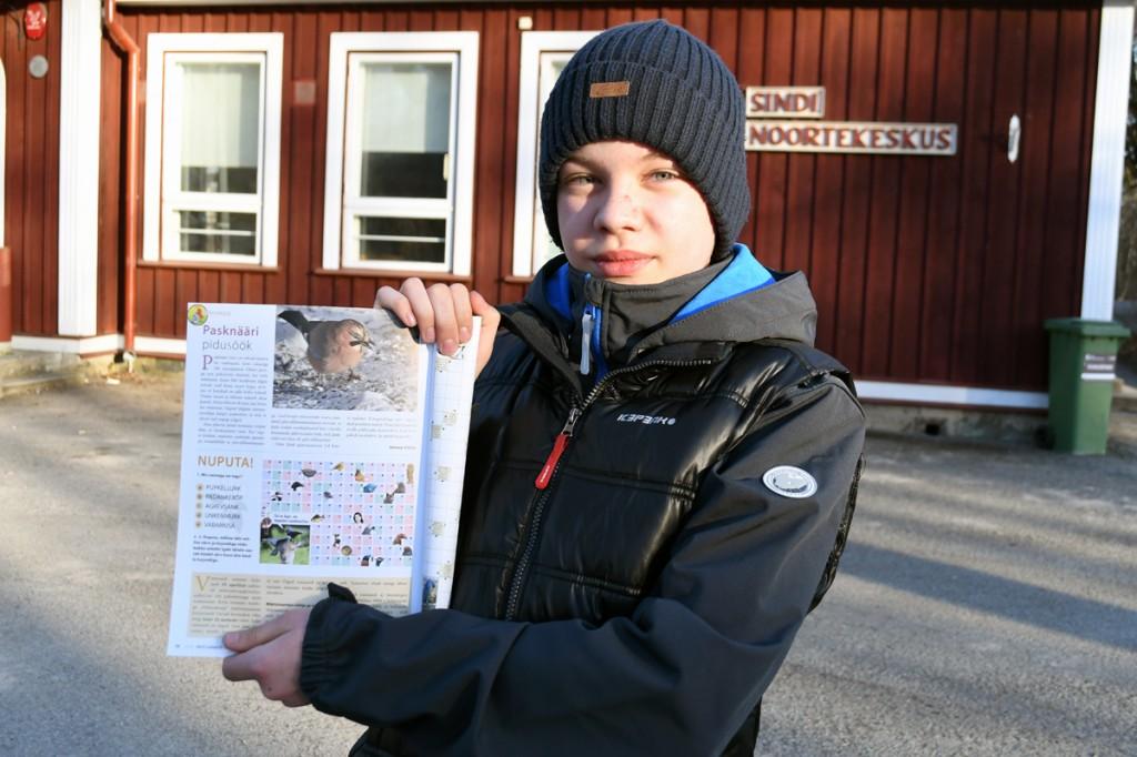 Joosep Ailiste foto ja artikkel Eesti Looduse aprilli numbris Foto Urmas Saard