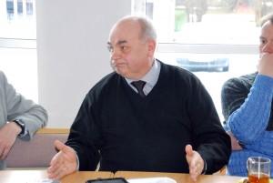 Joosep Tammo ühena vaimulikest kohtumisel poliitikutega Agape keskuses Foto Urmas Saard