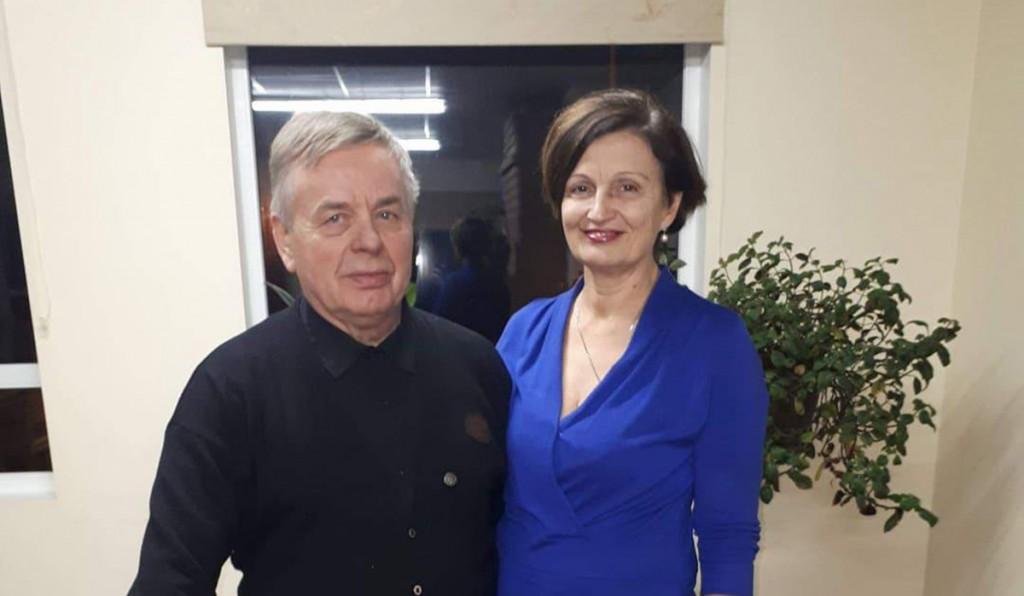 Juhan ja Esti Seer. Foto Monika Otrokova