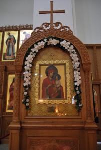 Jumalaema Kiirestikuulja ikoon, mida metropoliit Kornelius hoidis oma kodus 53 aastat Foto Urmas Saard
