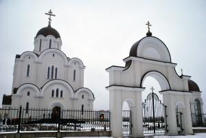 Jumalaema Kiirestikuulja ikooni kirik Lasnamäel Foto Urmas Saard