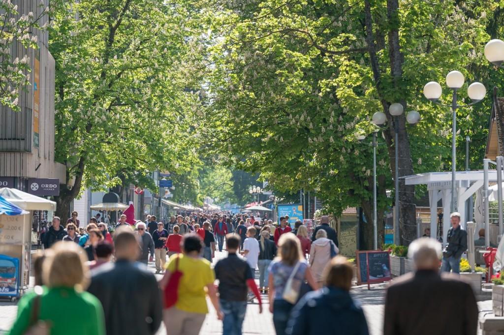 Jurmala, Jomas iela Foto Jurmala linnavalitsus
