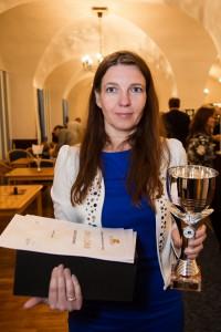 2016. aasta Eesti parim naiskabetaja Kaari Vainonen.