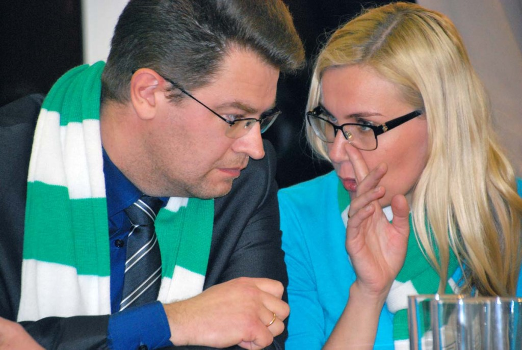 Kadri Simsonil on Marko Šorinile midagi olulist öelda Foto Urmas Saard