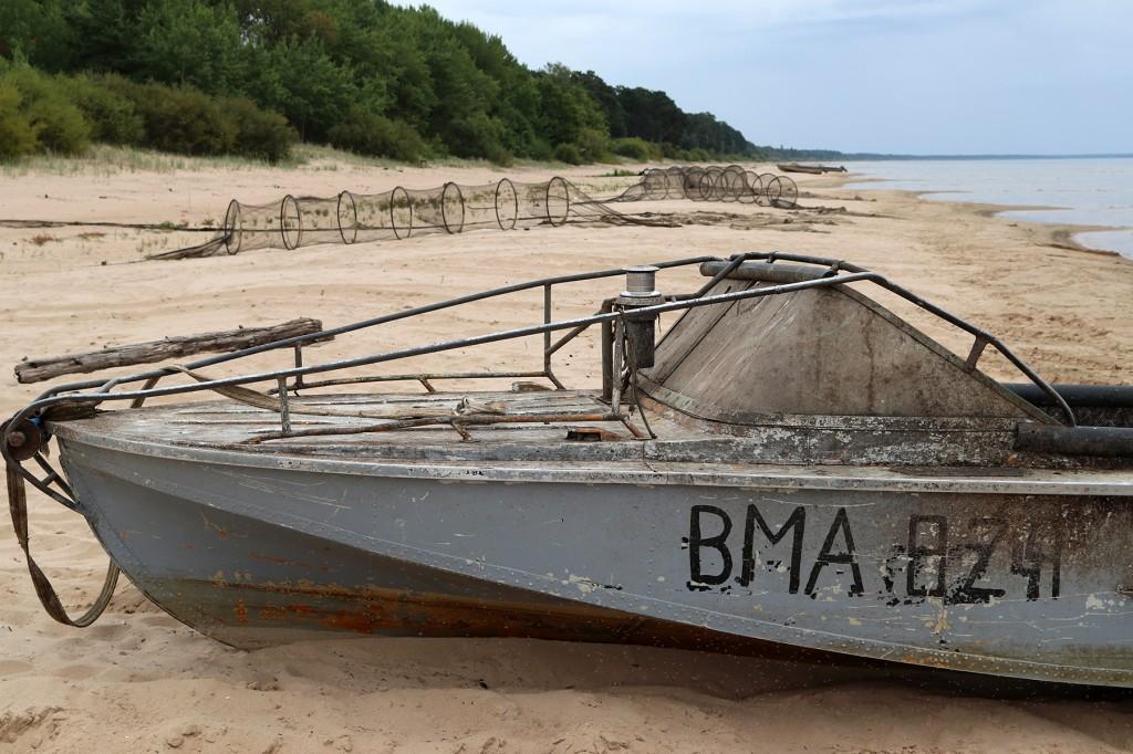 Kataste-Vasknarva, Peipsimaa kultuuripärandiks on ka rannakalandus. Foto MTP Peipsimaa turism