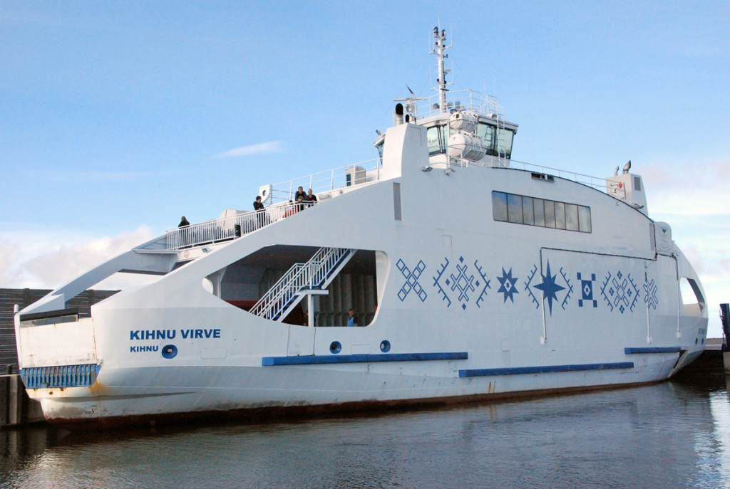 Kihnu Virve Munalaiu sadamas Foto Urmas Saard