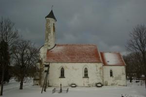 Risti kirik lõuna suunast vaadatuna. Foto: erakogu