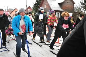 """""""Kolkja kelgul 2013"""" osales üle 100 kelgutaja. Foto: Jaan Lukas"""