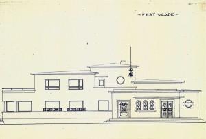 Kolmekümnendatel kavandatud EELK Sindi koguduse hoone eskiis Sindi linnavalitsuse arhiivist