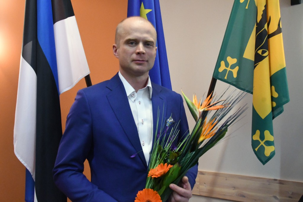Lauri Luur, Tori vallavanem Foto Urmas Saard
