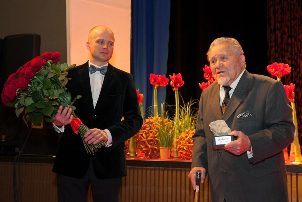 Lauri Luur ja Hans  Soll. Foto Ülo Soomets
