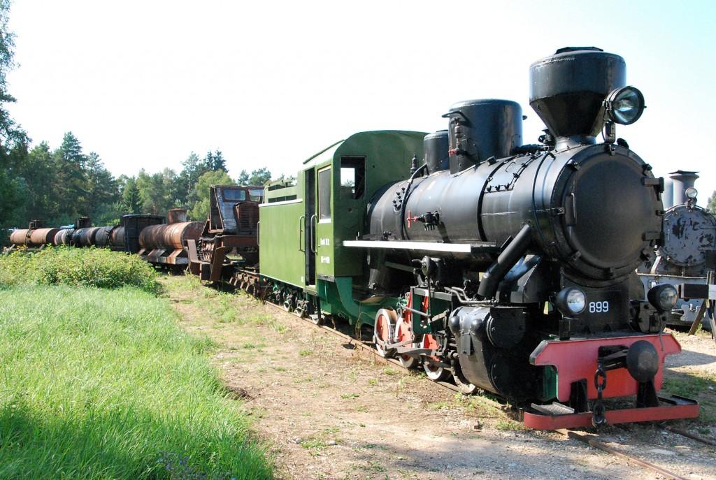 Lavassaare kitsarööpmelise raudtee muuseum. Foto Urmas Saard