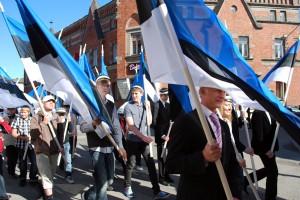 Lipu päeva tähistamine Pärnus 2010 aastal Foto Urmas Saard