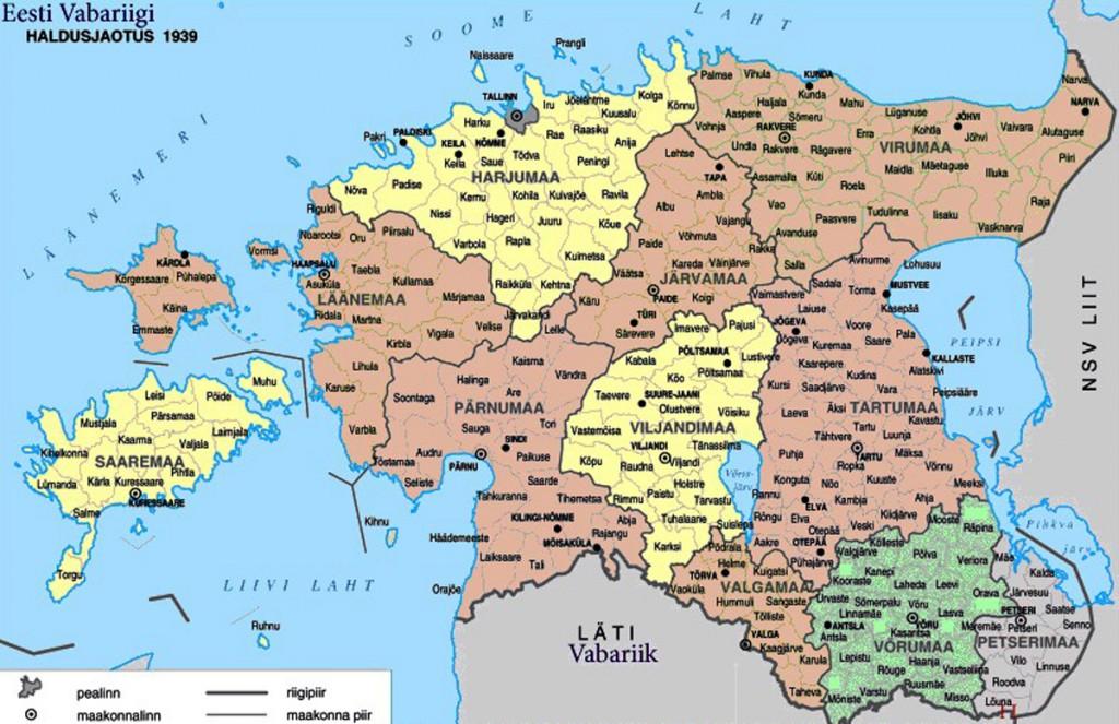 Möödub 100 aastat I maailmasõja lõpust, suurtest muutustest Euroopa kaardil ja mitmete rahvusriikide tekkest Teiste hulgas sündis kaardile ka Eesti Vabariik